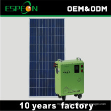 Sistema gerador de energia solar portátil 500w fora da rede 1 kw