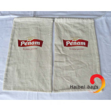 Cotton Food Bag with Plastic Lining