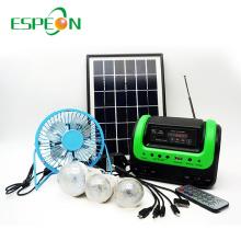 Espeon высокое качество Африки 3ВТ 6В от сетки солнечные комплекты для дома