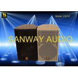 Single 12'' Neodymium Audio Speaker Cabinets For Theatre C5212