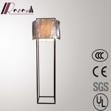 Modern Hotel Decorative Black Iron Large Standing Floor Lamp