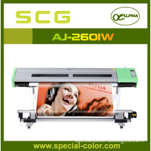 Sublimation Printer Double Print Head Aj-2601 (W)