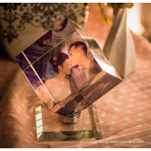 Rotating Crystal Photo Frame for Christmas Gifts