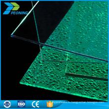 Новое пришествие горячие продажи цветной прозрачный лист поликарбоната солнечный свет