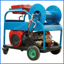 Прочистки канализационных труб машина Бензиновый двигатель 24лошадиная сила