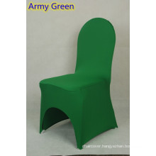 party decoration,lycra chair cover fit all banquet chairs,high quality,army green