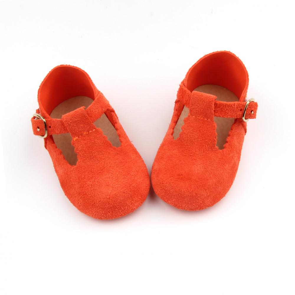Red T Bar Shoes