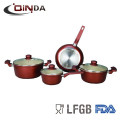 ceramic wholesale forged cookware set
