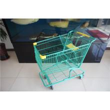 American Style Stahl Supermarkt Warenkorb