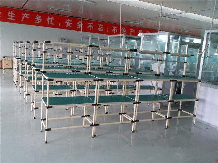 PE ABS Metal Pipe Workbench