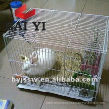 Jaulas para mascotas de acero inoxidable para conejo