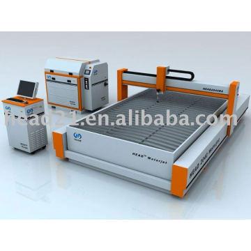 Machine de découpage de jet d'eau de caoutchouc de la CNC de 2000 * 4000mm