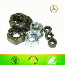 DIN934 / acier au carbone ISO4032 écrou fixation