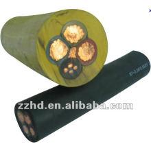 cable de goma con aislamiento de cable de soldadura flexible H07RN-F