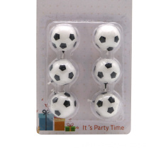 New Designed Cartoon Football Party Birthday Candle