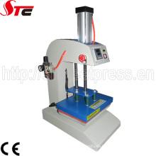 Herstellung Verkauf billig CE genehmigt automatische pneumatische Logo Sublimation Ausrüstung