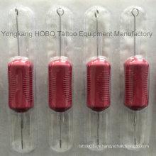Günstige Combo Style Produkte Red Tattoo Griffe mit Nadeln Supplies
