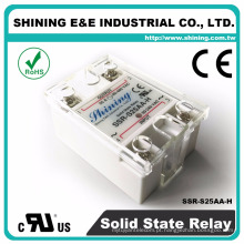 SSR-S25AA-H AC para AC Industrial Single Phase Solid State Relay