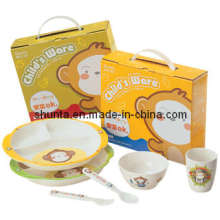 "100% Melamine Dinnerware- ""Bigi"" Series Child Gift Set / Melamine Tableware (BGG1)"
