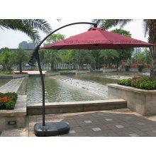 Parasol en aluminium pour patio extérieur pour jardin d'hôtel