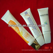 Limpador facial tubo de plástico oval