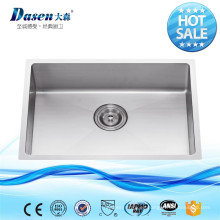 AMERICAN STANDARD USED LOWES SINGLE BOWL UNDERMOUNT HECHO A MANO DE COCINA DE ACERO INOXIDABLE SINK