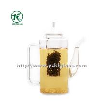 Clear Single Wand Glas Teekanne von SGS (850ML)