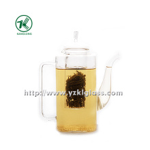 Clear Single Wall Glass Teapot by SGS (850ML)
