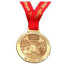 Custom Made Metal Marathon Finisher Medal