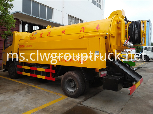 Suction Sewage Truck 5