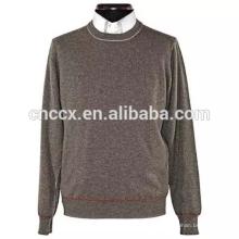 15JW0324 легкий вес V-образным вырезом мужчины чистый цвет пуловеры свитера