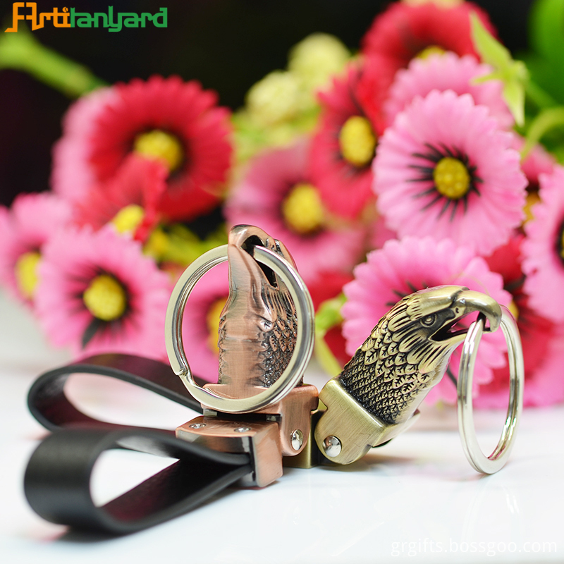 Cool Leather Key Chain