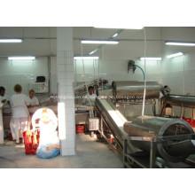 Equipo de procesamiento de pies para equipo de matadero.