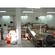Equipamento para processamento de pés para equipamentos de matadouro