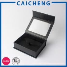 Emballage de cadeau de boîte de papier de fermeture magnétique personnalisé