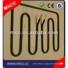 forno elétrico aquecedor de aquecimento tubular