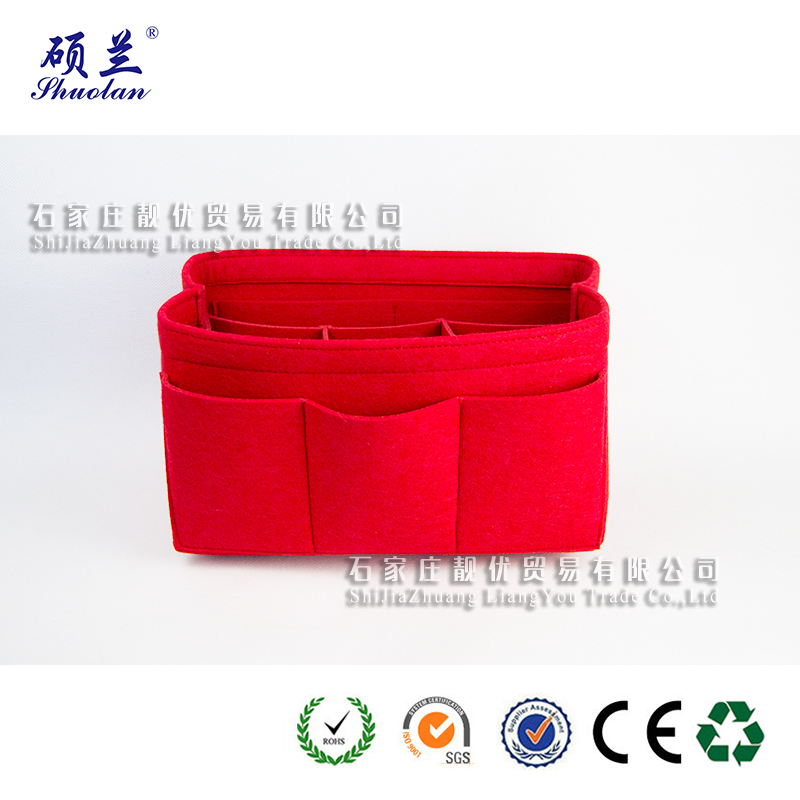 Top Quality Felt Cosmetic Organizer