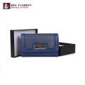 HEC China Marken Damen PVC PU Leder Große Kapazität Telefon Geldbörse