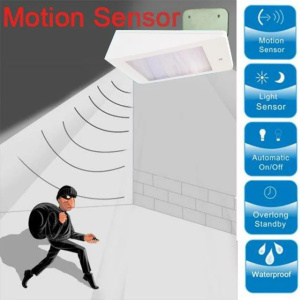 Utomhus LED Solar Powered Motion Sensor Pathway Light