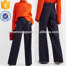 Широкие шерстяные брюки Производство Оптовая продажа женской одежды (TA3020P)