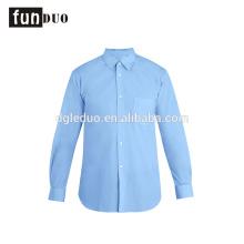 Camisas de cor sólida azul homens manga longa ventilar vestido formal azul camisas de cor sólida homens manga longa ventilar vestido formal