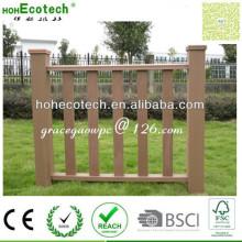 Stabile Starke Holzplatte 100% Recycling Anti-Form Wasserdichte WPC Fencings