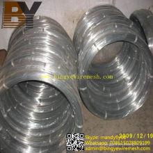 Arame oval de aço galvanizado sul-amercial