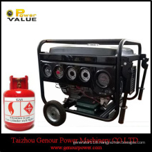 Household China 6kw 6kVA Natural Gas Silent Generator for Sale