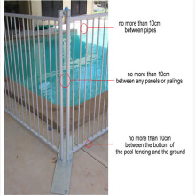 Ornamental Aluminum Swimming Pool Fence Designs