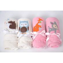 O cobertor o mais NOVO do cobertor do velo do cobertor do bebê