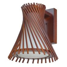 Abajur de madeira hotel lâmpada de cabeceira de madeira