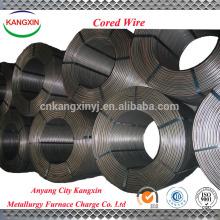 Manufacturer supply metal alloy , FeSi / ferro silicon alloy powder cored wire