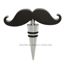 Creative Bottle Stopper, Mustache Bottle Stopper