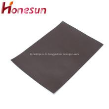 Feuille d'aimant flexible en caoutchouc Papier magnétique A4